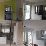 Baufasen Küchenumbau