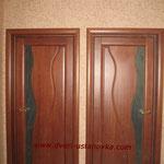 2.2. Установка межкомнатных одностворчатых дверей (общий вид).