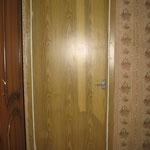 Фото 1.7. Межкомнатная одностворчатая дверь. Общий план (так было).