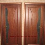 2.1. Установка межкомнатных одностворчатых дверей (крупным планом).
