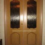 Фото 1.1. Установка распашных межкомнатных дверей. Общий план.