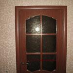3.1. Установка межкомнатной одностворчатой двери (крупный план).