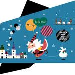 クリスマス サンタクロース キャラクター