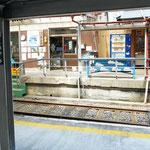 途中の奥泉駅です。色々な案内が出ていて、ここで降りるのも楽しそう。
