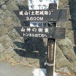 湯河原駅の小田原寄りにトンネル(隧道)があり、手前の標識が気になっていました。
