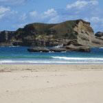 民宿に荷物を置いて、千座の岩屋海岸に行きました。