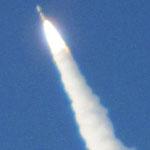 順調みたい! この後、気象衛星は軌道に投入されたそうです。来た甲斐がありました。