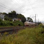 行っちゃいました…。2234岡山発、545熱海着。東海道線に乗換えて610湯河原着。在住者にとって、結構使える電車!だと思うのですが…