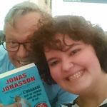 Selfie Jonas Jonasson i Mixa