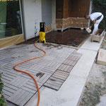 Recuperación de madera de teka
