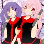 ゆう様/桜と菫