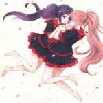 もちゃひこ様/桜と菫