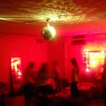 Partyraum im Untergeschoss