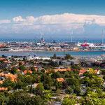 ein 128 Megapixel Panorama über Fredderikshaven (Dänemark)