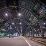Impressionen aus dem Hauptbahnhof Karlsruhe
