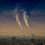 Industrienation | Fernblick vom Turmberg über Karlsruhe