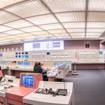 Schaltwarte des Kernkraftwerks Philipsburg