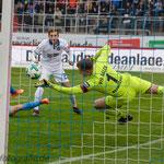 Karlsruher SC vs. Aalen  im Wildpark Stadion