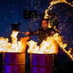 Hochzeits-Feuershow in Fürstenfeldbruck