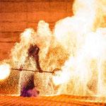 Hochzeits-Feuershow in Augsburg