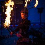 Feuershow in Fürstenfeldbruck