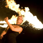 Hochzeits-Feuershow