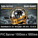 Banner Quadhandel
