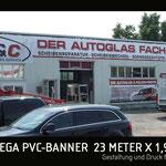 XXL Banner M&C Autoglas
