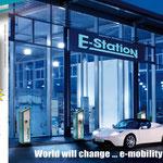 Anzeigengestaltung für WALTHER-WERKE, e-mobility