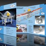 Pendelsägen-Folder für NEU-Maschinenbau GmbH, Konzeption, Layout und Fotografie © STEFAN ELLBRÜCK DESIGN