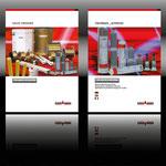 Titelseiten für FONTARGEN-Böhler Welding, Konzeption, Layout und Fotografie © STEFAN ELLBRÜCK DESIGN