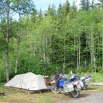 Camping in Prince Rupert