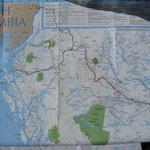 Karte von Alaska