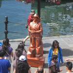 Statue die sich bewegt