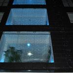 Hotelfenster mit Wasserberieselung,    Waaaoouu