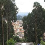 Blick auf Zipaquira