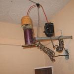 die moderne Elektronic fürs Heißwasser machen