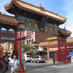 das chinesische Tor in Victoria