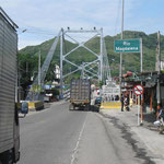 Brücke über den Rio Magdalena