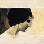 Begegnung, 2008, Öl auf Leinwand, 60 x 70 cm