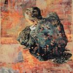 Der Brief, 2009, Öl auf Leinwand, 110 x 90 cm