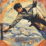 Weitsicht, 2008, Öl auf Leinwand, 90 x 110 cm