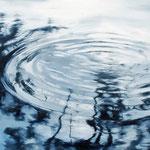 Circles No. 1, 2017, Öl auf Leinwand, 70 x 90 cm,