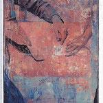 Vielleicht ist das gar nicht die Frage, 2003, Öl auf Leinwand, 170 x 50 cm *