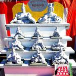 笹島石材 御影石のひな祭り