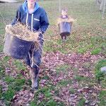 L'une des actiités quotidiennes sur la ferme : S'occuper des animaux! Soins