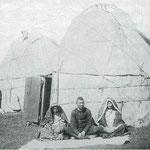 """La yourte bashkir est plus haute que la yourte mongole. On dit qu'elle est de type """"kyrghize"""". Une yourte 5 murs pèse environ 250kg !"""
