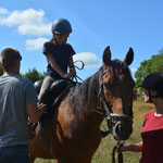 Chez nous, tout le monde monte à cheval ! Une tradition et une passion à travers une histoire de famille, des plus petits aux plus grands, des plus jeunes aux moins jeunes ! (PHOTO 2019 (c) Gauthier Rousseau)