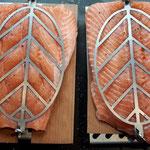 Nr. 1004/1005 Flammlachshalter als Zubehör für den Vertikal-Spieß-Grill BBQ Burner Deluxe