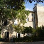 Rückseite des Château de Pié Bouquet (Aufnahme aus dem Jahr 2013) / © Sammlung PRISARD